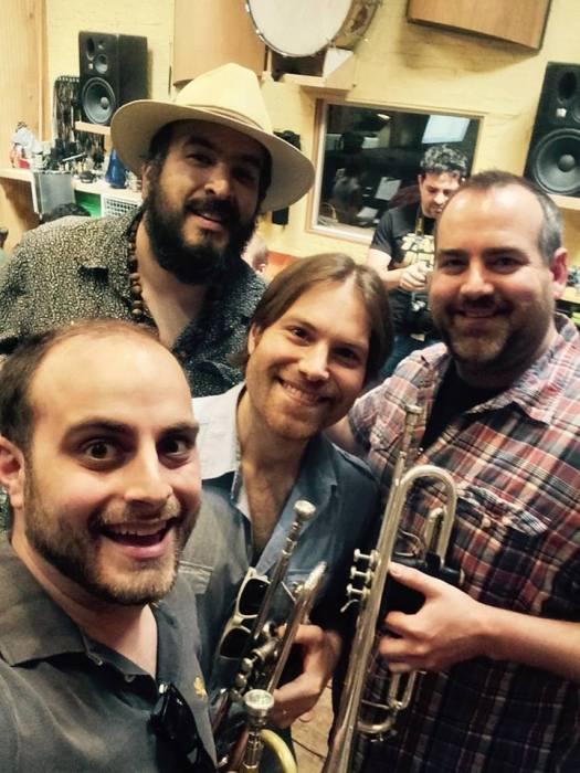 in the Studio with Banda Nueva York