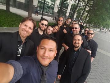 Banda Nueva York Photo Shoot