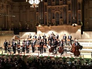 VCFO at the Tonhalle, Zurich with Joshua Bell