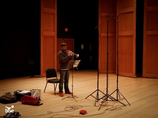 solo recording at Bove Studios
