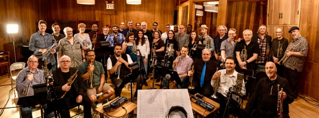 recording session amazing players for Instrument of Hope!