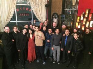 Banda Nueva York video shoot wrap