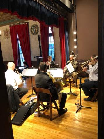 Brass Quintet concert for Korean Peace Summit at Columbia U.