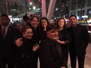 Lincoln Center Gala reception