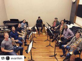 Lexicon Brass rehearsal